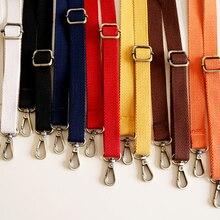 130 см регулируемые сумки на ремне сумки на плечо аксессуары модные однотонные ремни с пряжкой