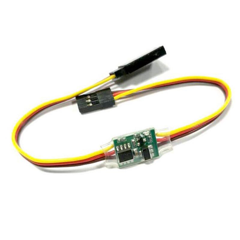 High voltage 3.6V - 24V 5A RC Servo Signal Reverser Rotation For Any Servo