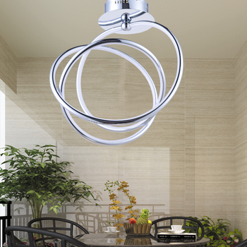 LED shaped ceiling lamps character bedroom modern minimalist restaurant lighting lamps exported porch lamp