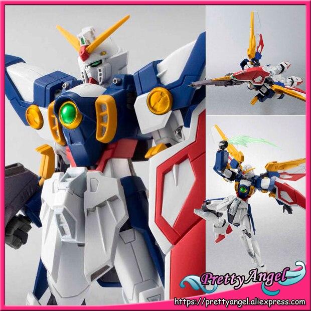 PrettyAngel genuino Bandai Tamashii países Robot Spirits n. ° 156 traje móvil Gundam ala acción figura ala Gundam-in Figuras de juguete y acción from Juguetes y pasatiempos    1
