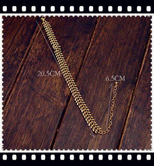 New Fashion foot jewelry chain link Anklets nice gift for women gril wholesale (mix order) AN09