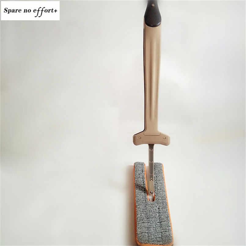 Casa Ferramenta de Limpeza Empurrar Mop 360 Graus de Rotação Mop Plano Piso De Madeira Dupla Face Não Lavar a Mão Mops da Poeira Em Casa acessórios Trapeador
