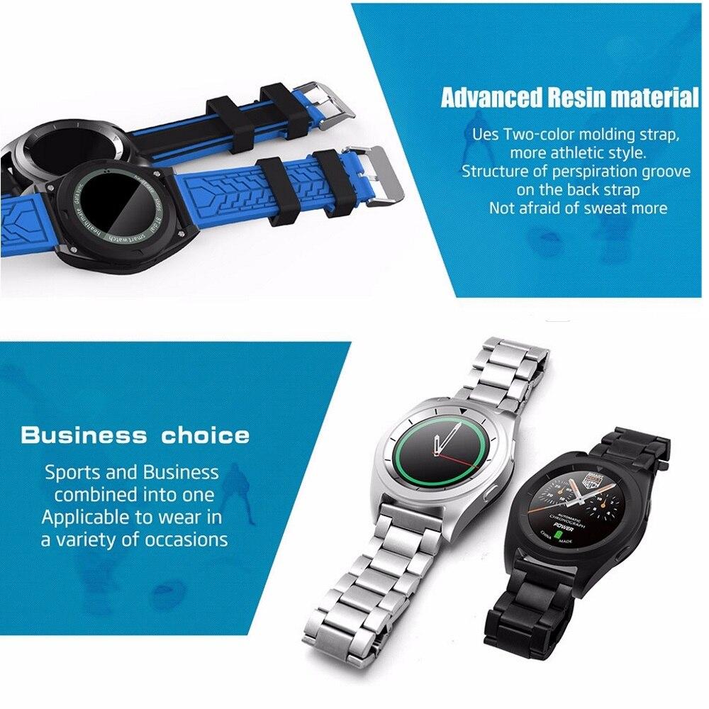 288ad21566c Relógios Inteligentes monitor de freqüência cardíaca bluetooth  Compatibilidade   All Compatible
