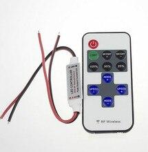 Мини-led strip переключателя рф диммер light контроллер пульт дистанционного беспроводной в