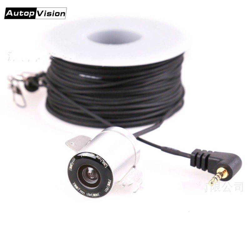 Spare Parts For Video Fish Finder System 20M 30M Seperate Cable 2.0mp Night Vision Ice Underwater Fishing Camera For X2B