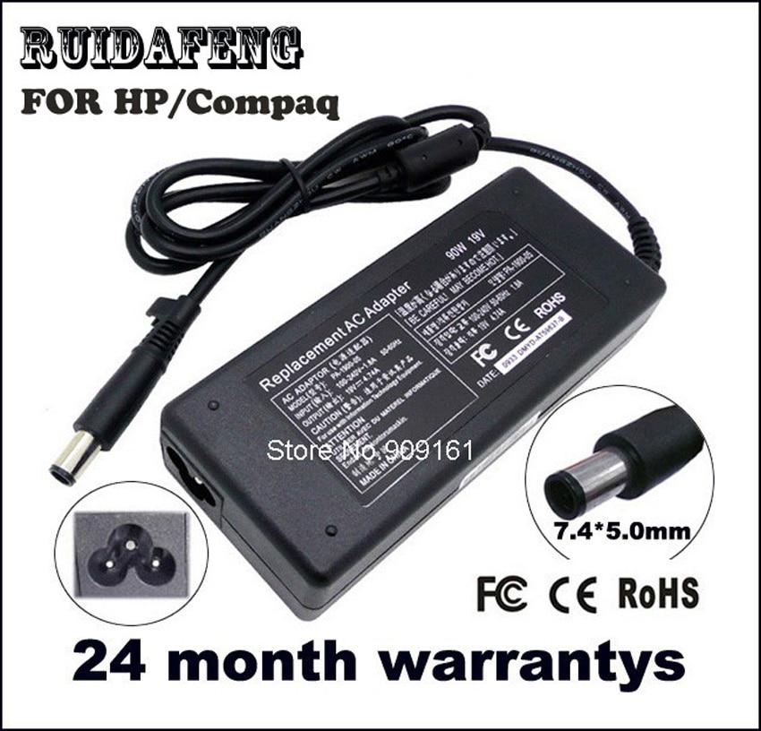 آداپتور لپ تاپ AC برای شارژر HP Compaq 19V 4.74A 90w نوت بوک 2230s 2510p 2710p 6510b 6515b 6530b 6535b