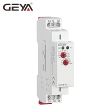 цена на GEYA GRT8-A Delay on Time Relay 12V 24V 230V Timer Relay Din Rail Type Time Delay Relays with CE CB certificate