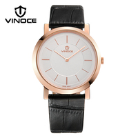 VINOCE Mens Watches Top Brand Luxury Classic Ultra Thin Wristwatches Relogio Masculino Fashion Business Quartz Watche