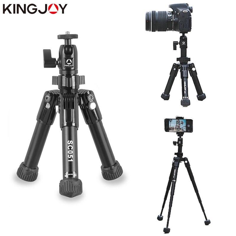 KINGJO Officielles SC051 Mini Caméra Table Trépied Pour Téléphone Gorillapod Mobile Tripes Par Movil Aluminium Tripode Stand Selfie Bâton