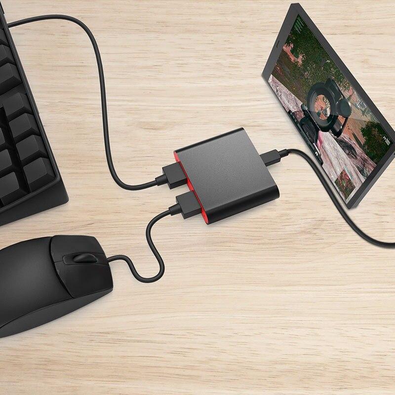 Professionelle Ipega Pg-9096 Bluetooth Tastatur und Maus Konverter für Spiel Controller Pubg Mobile