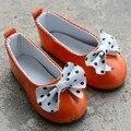 [ wamami ] 04# 1/6 точка с бантом принцесса оранжевый LOLI бжд SD DOD снмп AOD Dollfie кукла обувь