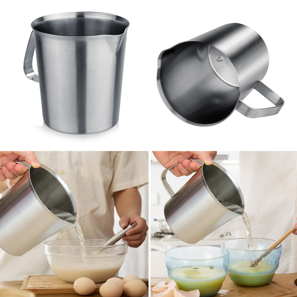 Thermomètre Four À Pain 500 us $10.29 29% off|500/1000ml stainless steel coffe milk measuring cup scale  mark measuring cups coffe appliance kitchen tool|mark cup|cup coffe|coffe
