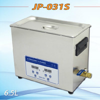 JP 031S 180W 6.5L Digital Ultrasonic Cleaner Hardware Parts Circuit Board Washing Machine With Basket