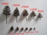 2017 abs-kunststoff maßstab modell bäume 3-16 cm landschaft landschaft miniatur straße baum layout