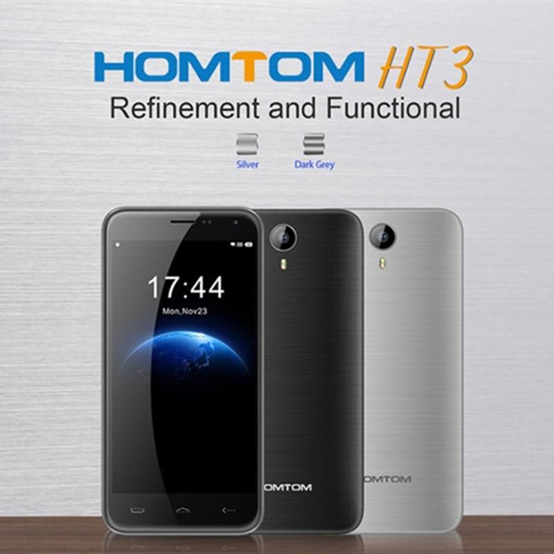 bilder für Original homtom ht3 mtk6580 quad-core-handy 5,0 zoll hd android 5.1 smartphone, ram 1 gb + rom 8 gb 3000 mah batterie moblie telefon