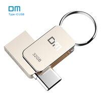 Free Shipping DM PD059 16GB 32GB 64G USB C Type C OTG USB 3 0 Flash