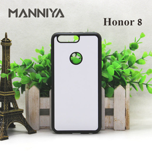 Image 3 - MANNIYA pour Huawei Honor 30 20 boîtier en caoutchouc Sublimation blanc avec Inserts en aluminium 10 pièces/lot