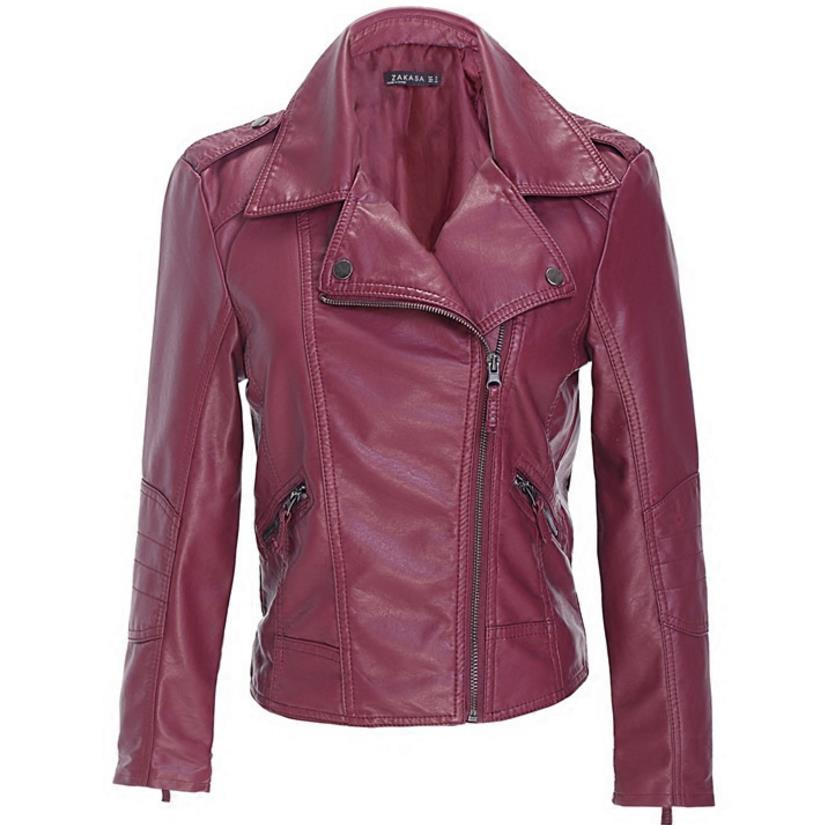 plus size 4xl Women   Leather   Jackets Pu   Leather   Coats Short Design Faux   Leather   Motorcycle Outwear