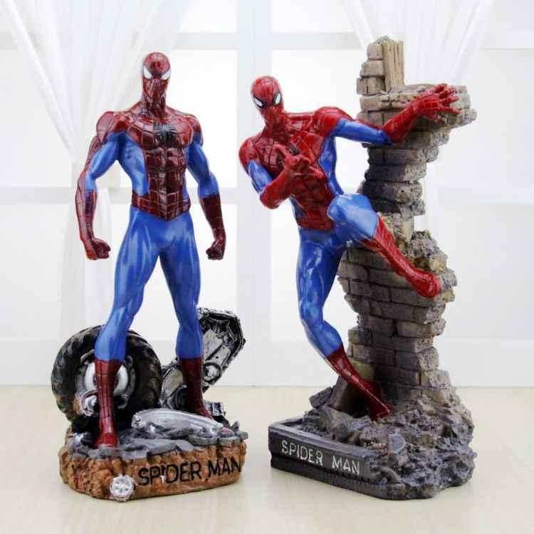 2019 Nova Criativo Plástico Marvel Avengers Spiderman Venom Carnificina Deadpool Batman Ironman Ação Figuras Meninos Brinquedos para As Crianças