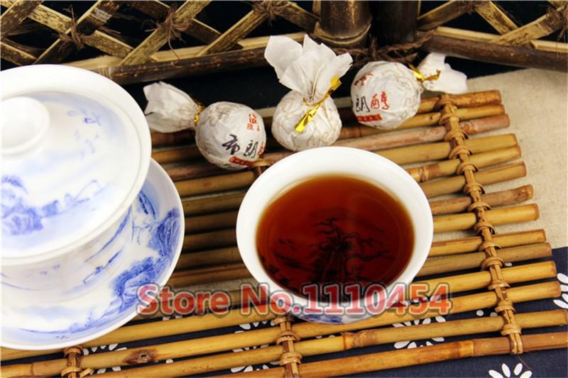 C-PE046 Promotion Upscale 20 pcs/lot Ripe Puer Tea Fragrant Mini Tuocha China Yunnan Slimming Shu Pu'er Tea Puerh Health Tea