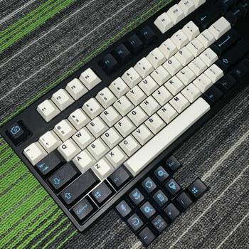 PBT 5 Face Dye-Sublimation Keycap Dedicated Mechanical Keyboard  Cherry Height Keyboard Key Caps