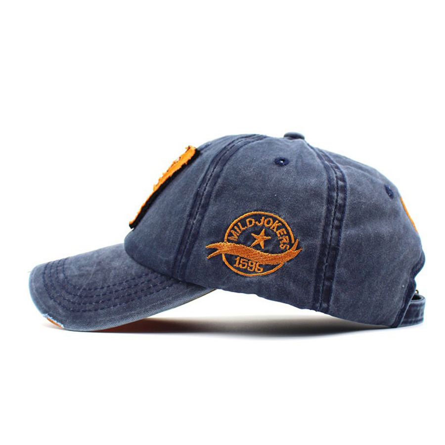 Hot Cotton Men Cap Embroidery W Women Baseball Caps Summer Autumn Washed Denim Hat for Unisex Fashion Winter Letter Hats Volume in Men 39 s Baseball Caps from Apparel Accessories