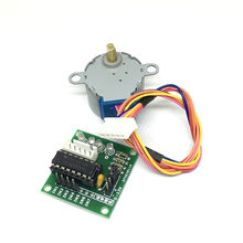2 pc/set 28BYJ-48 ULN2003 Unidade Módulo Board + 5 V 4 Fase DC Engrenagem Stepper Moto(China)