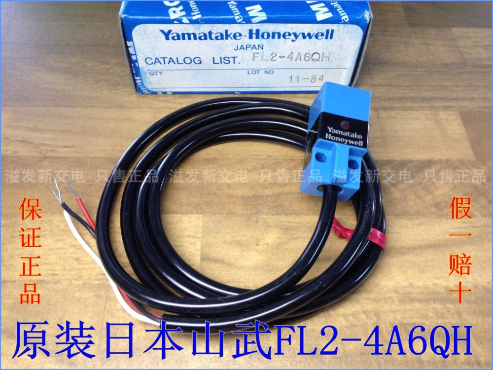 Original new 100% Japan import FL2-4A6QH import proximity switch NPN NO ingersoll in1810wh