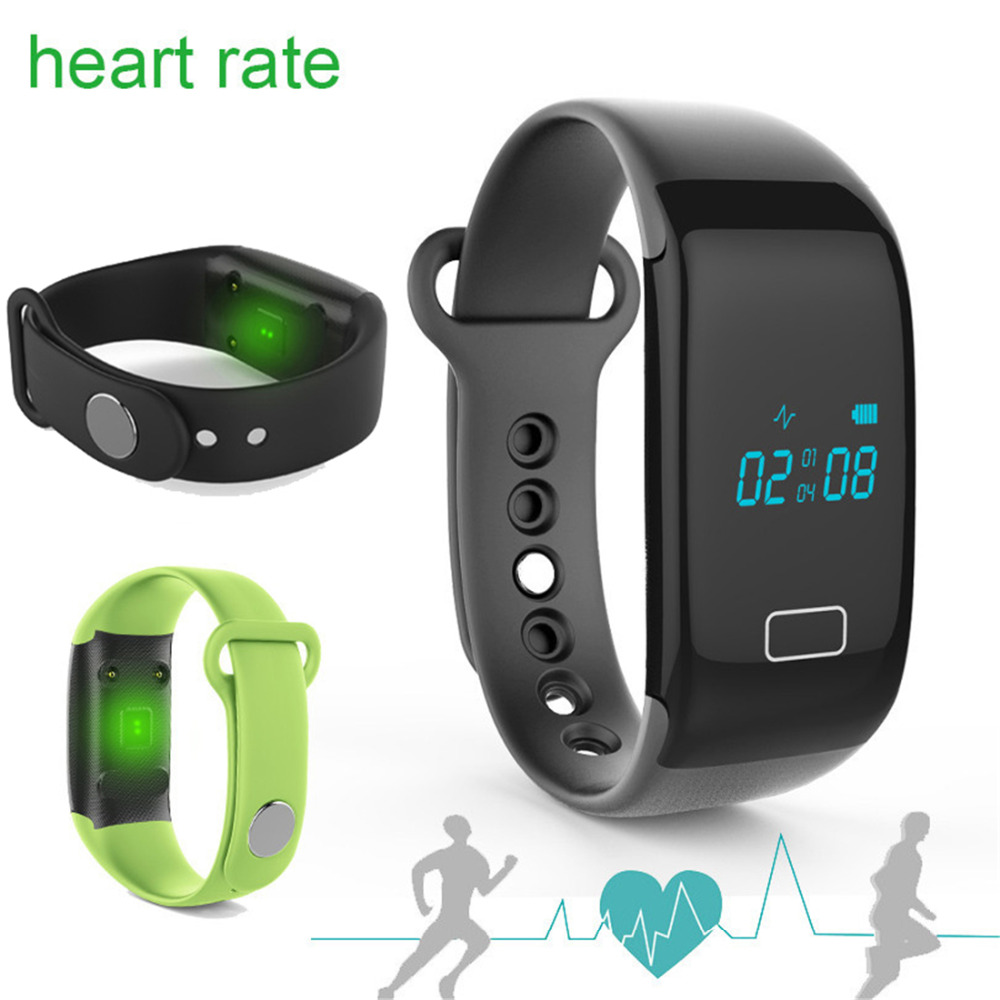 Fitness JW018 Heart Rate Wristband Smart Band Monitor Charge Rate Tracker font b Smartwatch b font