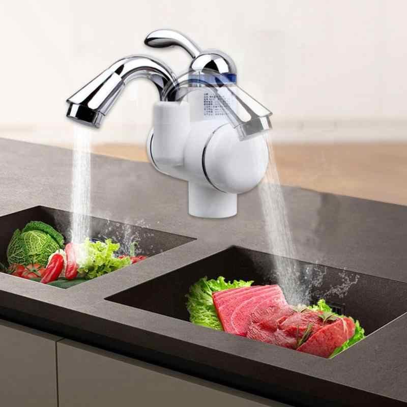 220V Elektrische Hot Kraan Boiler Elektrische Tankless Verwarming Keukenkraan Digitale Display Instant Water Tap