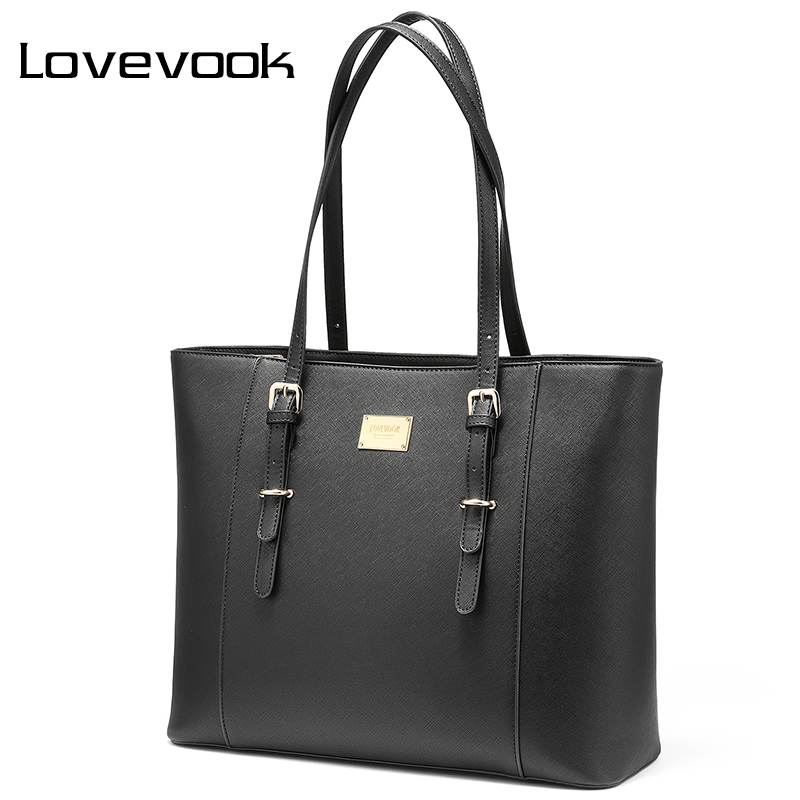 LOVEVOOK กระเป๋าถือกระเป๋าถือสตรีขนาดใหญ่กระเป๋าสุภาพสตรีสำนักงานแล็ปท็อปกระเป๋าผู้หญิง 2019 ทำงานกระเป๋าโรงเรียนขนาดใหญ่-ใน กระเป๋าสะพายไหล่ จาก สัมภาระและกระเป๋า บน AliExpress - 11.11_สิบเอ็ด สิบเอ็ดวันคนโสด 1