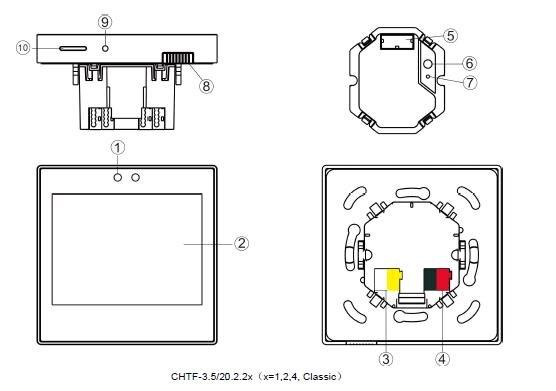 HTB1Ewajav5G3KVjSZPxq6zI3XXaj - Latest KNX/EIB GVS K-Bus 3.5'' KNX Touch Screen KNX Touch Panel 3.5 Inch Classic Type in KNX smart Home automation System