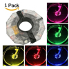 LEDGLE Rechargeable Bike Wheel Lights Decoration Bicycle Hub Lights Spoke Lights With Multiple Color Mode 12