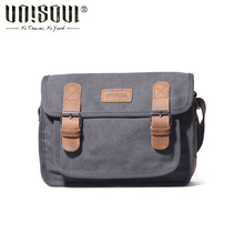 UNISOUL Arrival Men Messenger Bag 2016 New Small Shoulder Bags Casual male High Quality Satchels Fashion Canvas Crossobdy Bag