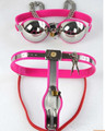 pink and black female chastity belt slave,Bra + underwear fetish sex bondage set toys,adult sex toys for couples nipple clamps