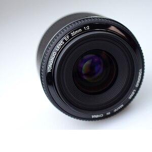 Image 3 - Ulanzi Yongnuo 35 mét Ống Kính YN35mm F2 ống kính Cho Canon góc Rộng Lớn Khẩu Độ Cố Định Tự Động Lấy Nét Ống Kính EF núi Máy Ảnh EOS w Ống Kính Túi