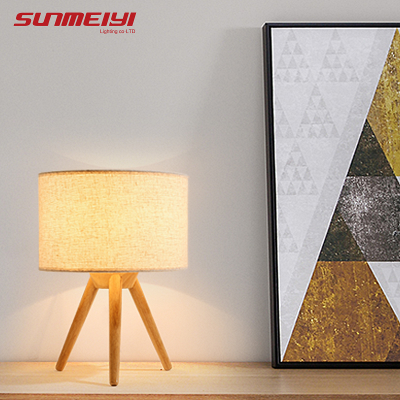 Vintage Table Lamps For Bedroom Living room lamparas de escritorio led Reading Table Light mesa de luz Wooden Desk LightVintage Table Lamps For Bedroom Living room lamparas de escritorio led Reading Table Light mesa de luz Wooden Desk Light