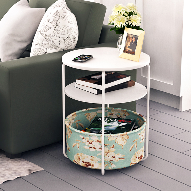 Simple small round tables living room coffee table sofa ...