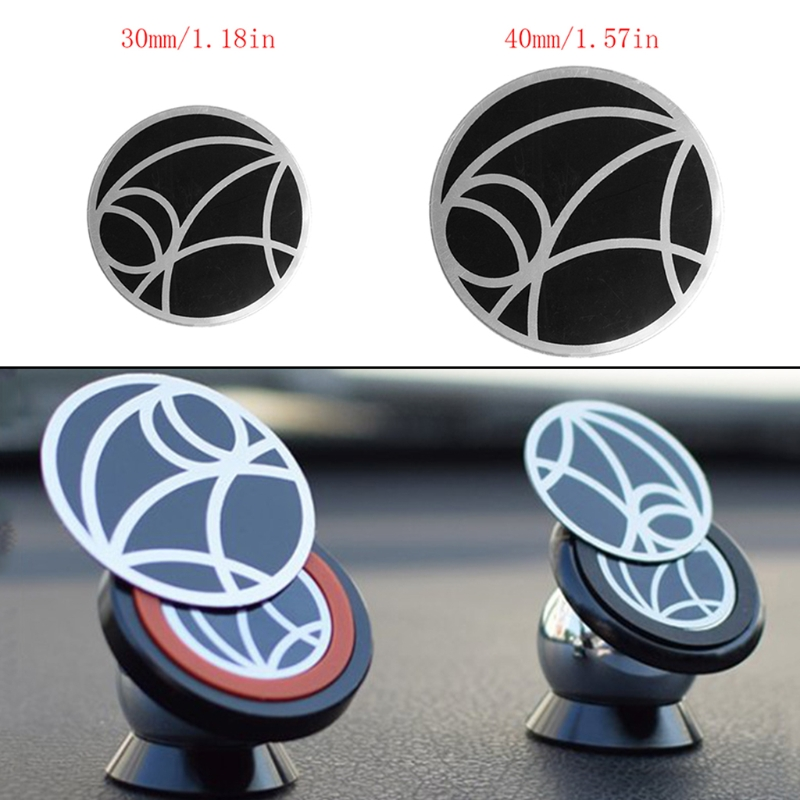 2019 New 1PC Universal Metal Plate Replacement For Car Magnetic Mount Attachment Phone Holder Stand New Drop Shipping