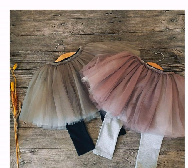 2017 SPRING SUMMER NEW BABY GIRL CLOTHES GIRLS LEGGING+SKIRTS FAKE 2 PCS CLOTHING BEBE VETEMENT ENFANT FILLE KIDS SKIRTS GIRLS