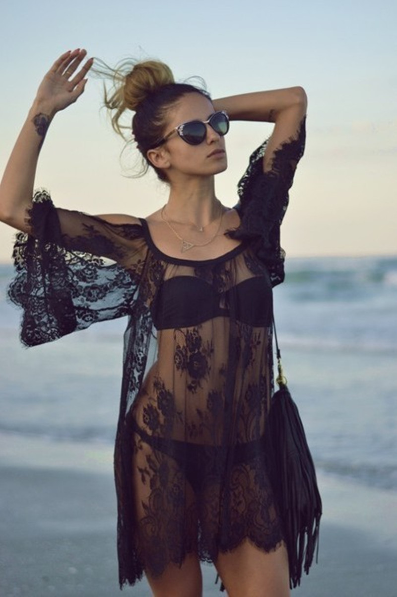 c063d7b6215 Buy black and white beach dresses and get free shipping on AliExpress.com