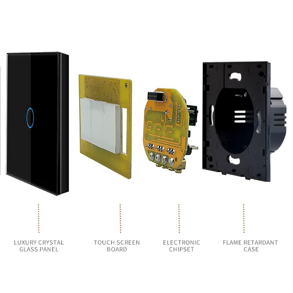 Interruptores e Relés vidro Modelo Número : Mt-d601