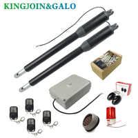 200kg-300kg swing gate linear actuator motors Kit with push button photocell alarm lamp(GSM module keypad optional)