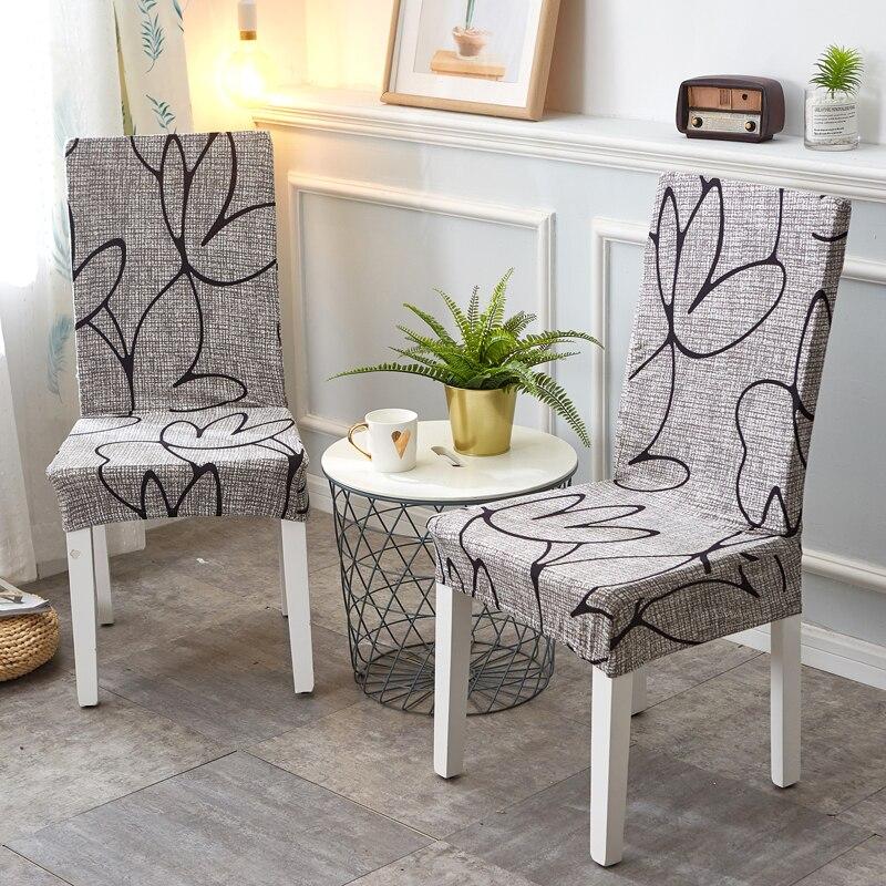 Stretch élastique chaise couvre Spandex pour mariage salle à manger bureau Banquet housse de chaise chaise couverture