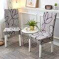 Stretch Elastische Stuhl Abdeckungen Spandex Für Hochzeit Esszimmer Büro Bankett housse de chaise stuhl abdeckung-in Stuhlabdeckung aus Heim und Garten bei