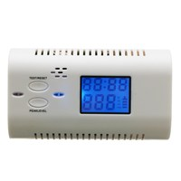 Co Carbon Monoxide Detector LCD Display Alarm Poisoning Gas Fire Voice Warning High Sensitive Home Security