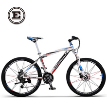 EUROBIKE hydraulic disc brake alloy frame mountain bike 27 speed 26 inch wheel complete bicycle
