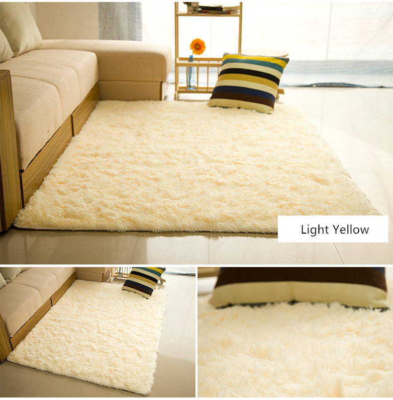 Large Size Fashion Free Shipping Soft Carpet Bedroom