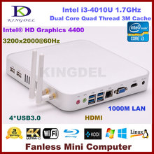 4GB RAM/500GB HDD Intel i3 Dual Core Mini PC Net Computer Wifi HDMI USB 3.0 VGA  Windows 7 / 8 / Linux OS 3 Year Warranty