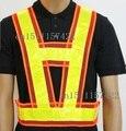 "Reflective vest ""V"" reflective safety vest  reflective overalls cycling clothing working vest"